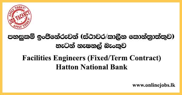 Facilities Engineers